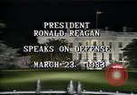 Image of President Ronald Reagan Washington DC USA, 1983, second 8 stock footage video 65675044180