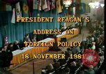 Image of President Ronald Reagan Washington DC USA, 1981, second 5 stock footage video 65675044189