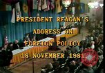 Image of President Ronald Reagan Washington DC USA, 1981, second 10 stock footage video 65675044189