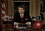 Image of President Ronald Reagan Washington DC USA, 1986, second 8 stock footage video 65675044192