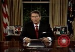 Image of President Ronald Reagan Washington DC USA, 1986, second 9 stock footage video 65675044192