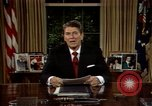 Image of President Ronald Reagan Washington DC USA, 1986, second 10 stock footage video 65675044192