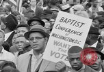 Image of Crowd assembles for third Selma to Montgomery march Selma Alabama USA, 1965, second 3 stock footage video 65675044200