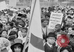 Image of Crowd assembles for third Selma to Montgomery march Selma Alabama USA, 1965, second 7 stock footage video 65675044200