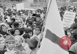 Image of Crowd assembles for third Selma to Montgomery march Selma Alabama USA, 1965, second 8 stock footage video 65675044200