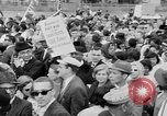 Image of Crowd assembles for third Selma to Montgomery march Selma Alabama USA, 1965, second 11 stock footage video 65675044200