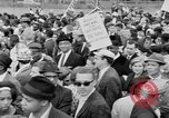 Image of Crowd assembles for third Selma to Montgomery march Selma Alabama USA, 1965, second 12 stock footage video 65675044200