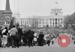 Image of Selma to Montgomery march with Harry Belafonte and Sammy Davis Jr Montgomery Alabama USA, 1965, second 4 stock footage video 65675044203