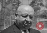 Image of Alfred Hitchcock Los Angeles California USA, 1964, second 8 stock footage video 65675044217