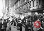 Image of Civil Rights demonstration against FW Woolworth stores New York City USA, 1962, second 1 stock footage video 65675044239