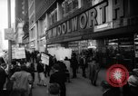 Image of Civil Rights demonstration against FW Woolworth stores New York City USA, 1962, second 4 stock footage video 65675044239