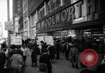 Image of Civil Rights demonstration against FW Woolworth stores New York City USA, 1962, second 5 stock footage video 65675044239