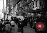Image of Civil Rights demonstration against FW Woolworth stores New York City USA, 1962, second 6 stock footage video 65675044239