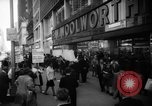 Image of Civil Rights demonstration against FW Woolworth stores New York City USA, 1962, second 7 stock footage video 65675044239
