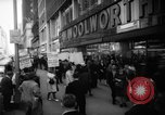 Image of Civil Rights demonstration against FW Woolworth stores New York City USA, 1962, second 8 stock footage video 65675044239