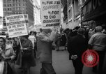 Image of Civil Rights demonstration against FW Woolworth stores New York City USA, 1962, second 9 stock footage video 65675044239