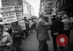 Image of Civil Rights demonstration against FW Woolworth stores New York City USA, 1962, second 10 stock footage video 65675044239