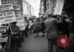 Image of Civil Rights demonstration against FW Woolworth stores New York City USA, 1962, second 11 stock footage video 65675044239