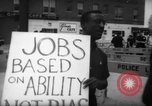Image of protesters New York City USA, 1962, second 3 stock footage video 65675044240