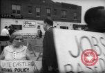 Image of protesters New York City USA, 1962, second 4 stock footage video 65675044240