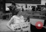 Image of protesters New York City USA, 1962, second 5 stock footage video 65675044240
