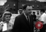 Image of protesters New York City USA, 1962, second 9 stock footage video 65675044240