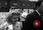 Image of protesters New York City USA, 1962, second 10 stock footage video 65675044240