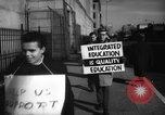 Image of Supporters of Integrated schools United States USA, 1962, second 6 stock footage video 65675044241