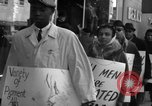 Image of African Americans picket a Cafeteria in New York City United States USA, 1960, second 4 stock footage video 65675044244