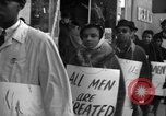 Image of African Americans picket a Cafeteria in New York City United States USA, 1960, second 5 stock footage video 65675044244