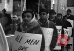 Image of African Americans picket a Cafeteria in New York City United States USA, 1962, second 6 stock footage video 65675044244