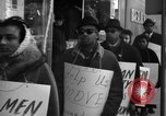 Image of African Americans picket a Cafeteria in New York City United States USA, 1960, second 7 stock footage video 65675044244