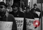 Image of African Americans picket a Cafeteria in New York City United States USA, 1960, second 9 stock footage video 65675044244
