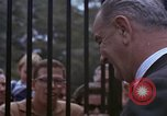 Image of President Lyndon B Johnson Washington DC USA, 1964, second 10 stock footage video 65675044246