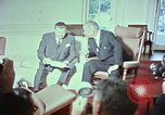 Image of Lyndon B Johnson Washington DC USA, 1964, second 12 stock footage video 65675044247