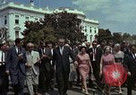 Image of Lyndon B Johnson Washington DC USA, 1964, second 5 stock footage video 65675044249