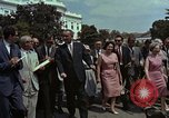 Image of Lyndon B Johnson Washington DC USA, 1964, second 7 stock footage video 65675044249