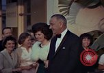 Image of Lyndon B Johnson Los Angeles California USA, 1964, second 3 stock footage video 65675044251