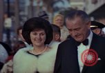Image of Lyndon B Johnson Los Angeles California USA, 1964, second 7 stock footage video 65675044251