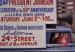 Image of President Lyndon B Johnson New York City USA, 1964, second 2 stock footage video 65675044254