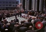 Image of President Lyndon B Johnson New York City USA, 1964, second 7 stock footage video 65675044254