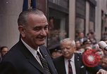 Image of President Lyndon B Johnson New York City USA, 1964, second 8 stock footage video 65675044254