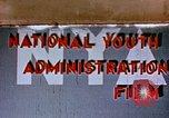 Image of National Youth Administration United States USA, 1940, second 1 stock footage video 65675044260