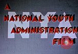 Image of National Youth Administration United States USA, 1940, second 2 stock footage video 65675044260