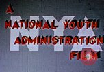 Image of National Youth Administration United States USA, 1940, second 3 stock footage video 65675044260