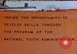 Image of National Youth Administration United States USA, 1940, second 1 stock footage video 65675044261