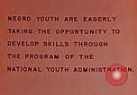 Image of National Youth Administration United States USA, 1940, second 4 stock footage video 65675044261