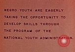 Image of National Youth Administration United States USA, 1940, second 7 stock footage video 65675044261