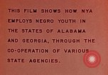 Image of National Youth Administration United States USA, 1940, second 11 stock footage video 65675044261