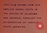 Image of National Youth Administration United States USA, 1940, second 12 stock footage video 65675044261